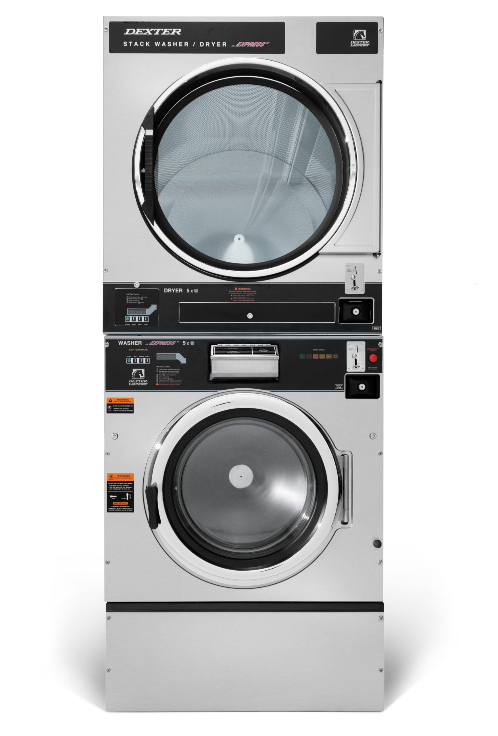 Dexter T-750 Washer Dryer Stack C Series Product Image